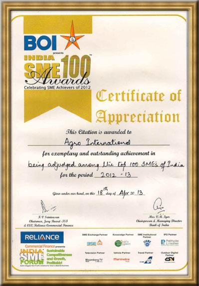 BOI-India-SME-awards
